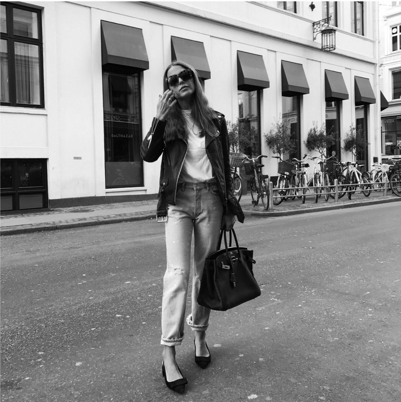 sophia roe - style outfit - hermes birkin bag