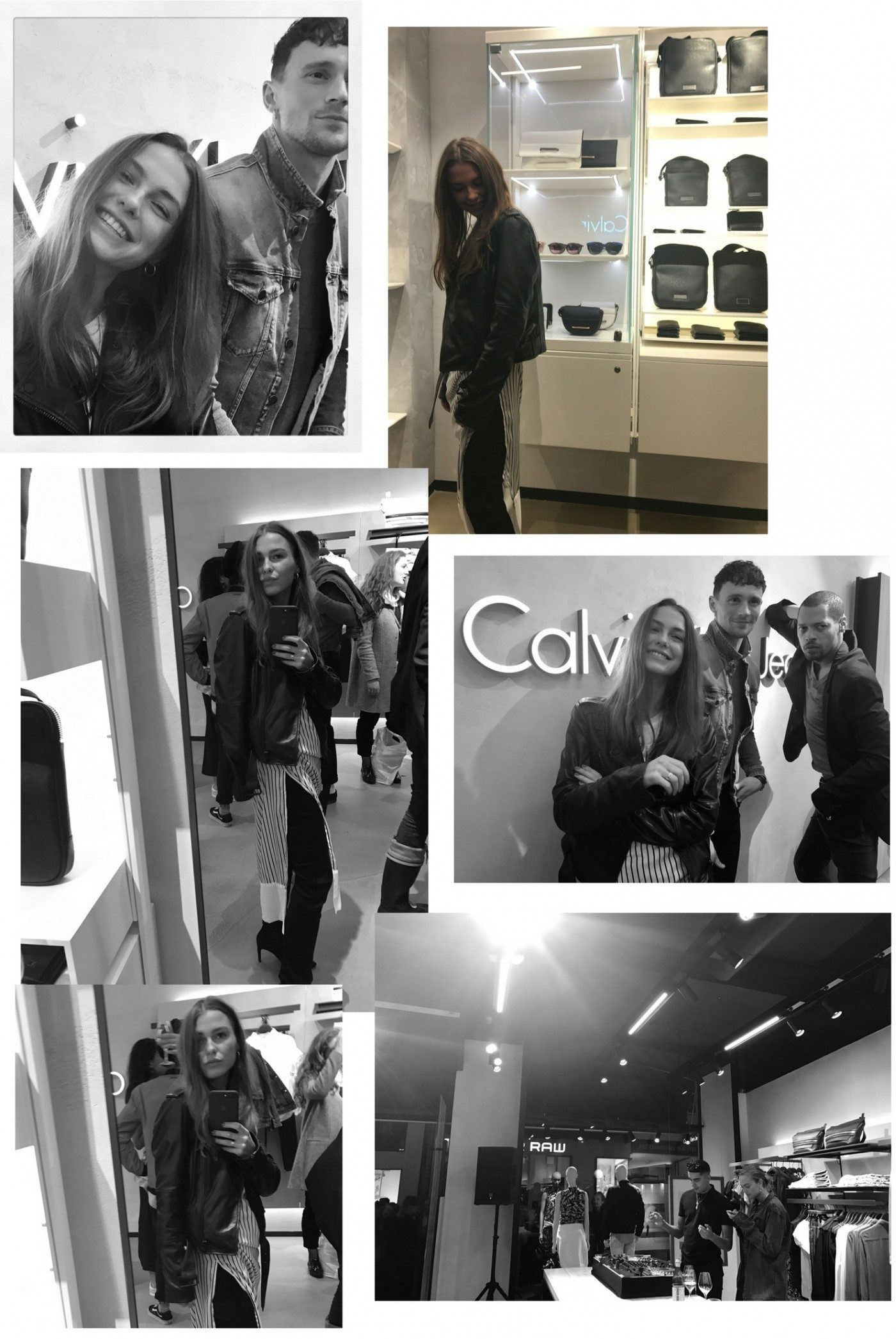 calvin klein store opening gallery roe diary. Black Bedroom Furniture Sets. Home Design Ideas